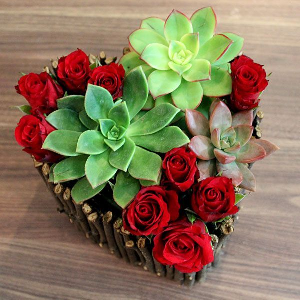 valentine's day flowers by post