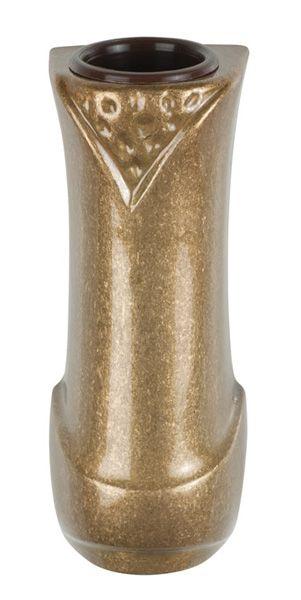 Portaorchidea in bronzo glitter light