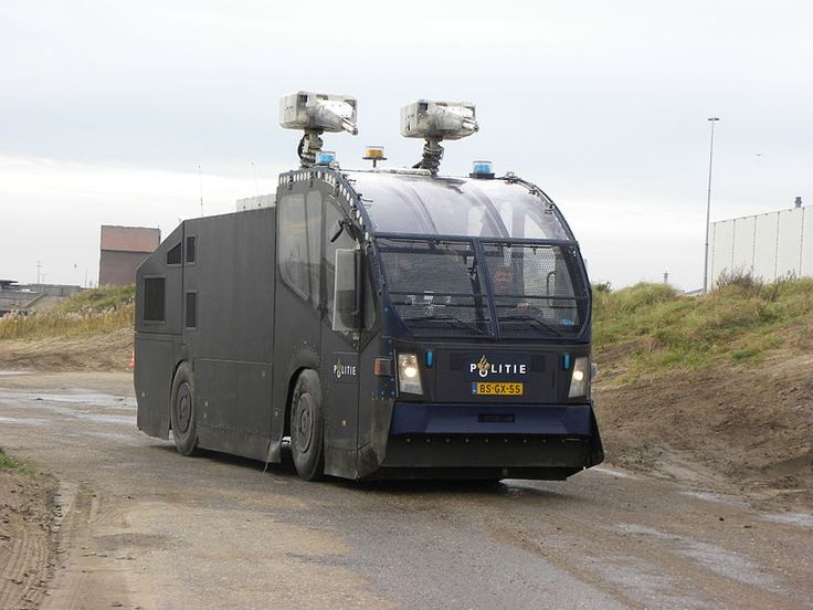 Dutch Riot police truck