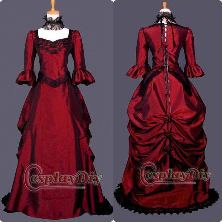 Magnífico Vestido De La Dama Victoriana Foto - Vestido de Novia Para ...