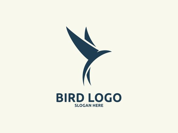 Bird logo by Brandlogo on Creative Market