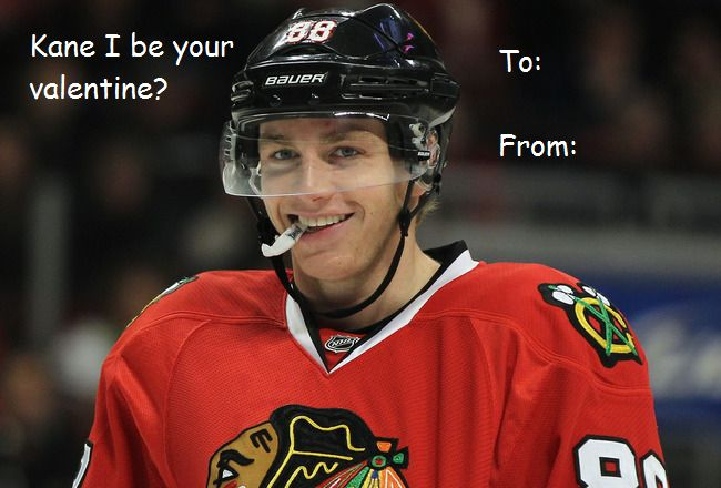 hockey valentines day card hockey valentines pinterest hockey chicago blackhawks and patrick kane