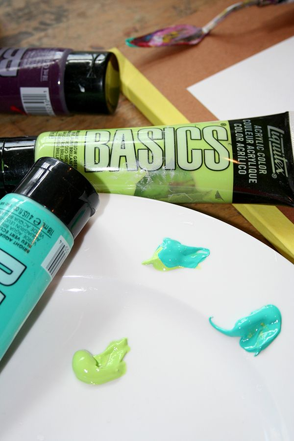 Mixing Acrylic Paint Colors