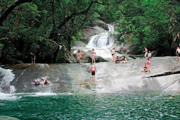 Natural Water Slide, Josephine Falls