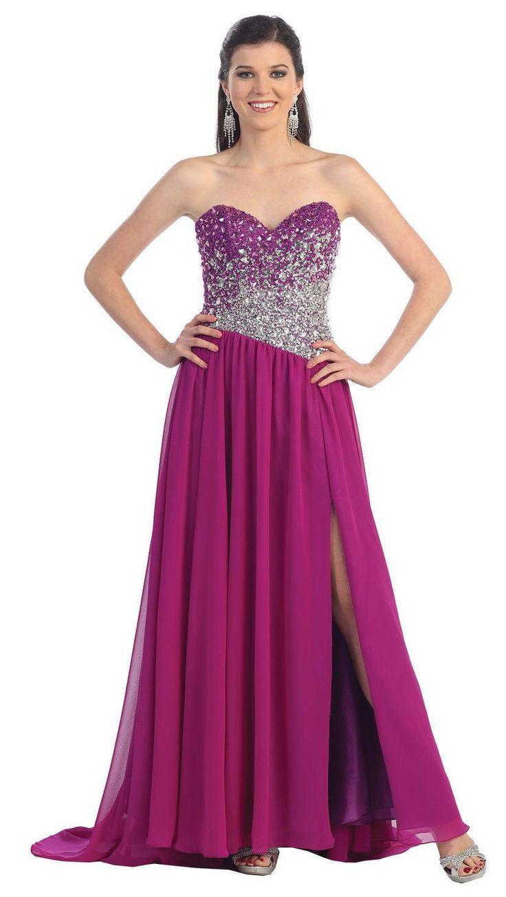 Mejores 569 imágenes de 2017 Prom Dresses en Pinterest | Dulces ...