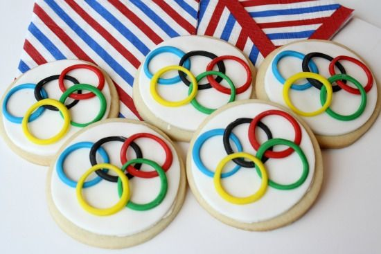 Learn to Make Olympic Celebration Cookies - Foodista.com