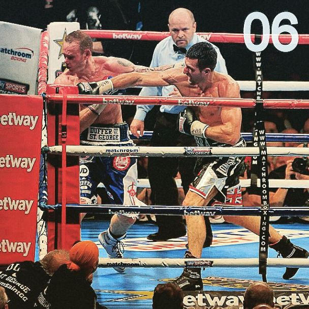 Number 6 on GiveMeSport's 2014 Moments is Carl Froch's devastating knock out of George Groves at a packed Wembley Stadium. #Boxing #Froch #Groves #GMS2014Moments