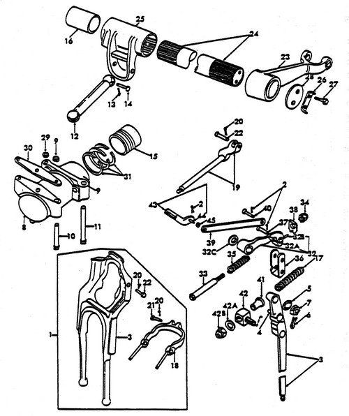 2845332e831a2b7d58ad0a888f99aa1d tractors lift 381 best ford tractor images on pinterest ford tractors, antique wiring diagram for 641 workmaster ford at fashall.co