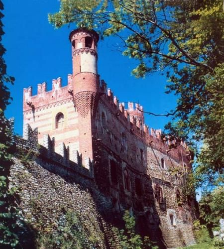 Castle Photo Archive, Candia Castle of Piedmont, Italy