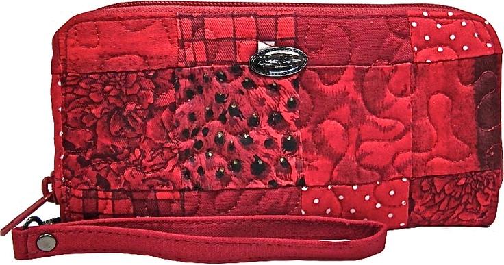 Lipstick Zippered Wallet by Donna Sharp