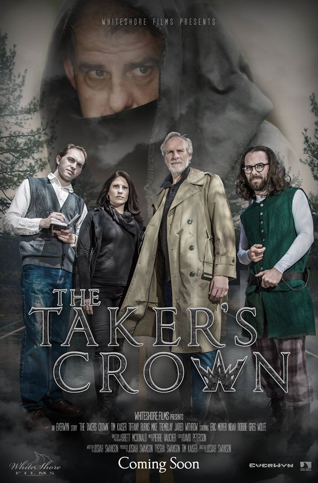 Coming soon to digital and limited theatrical release!  WhiteShore Film's The Taker's Crown! Follow us on Facebook to stay up to date!  https://www.facebook.com/whiteshorefilms/