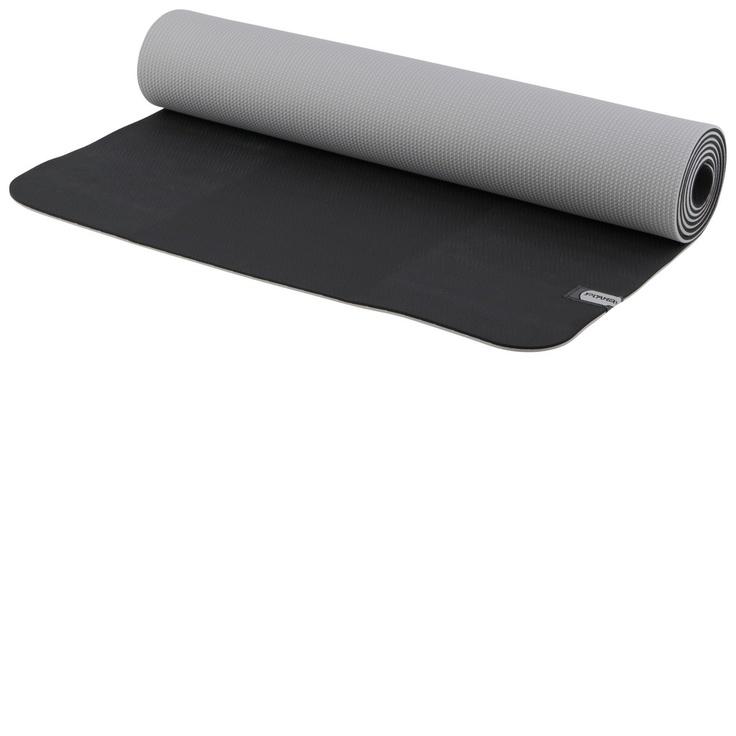 prAna reversible ECO sticky mat in black-vapour (http://www.kamalaom.com/prana-e-c-o-yoga-mat-black-vapor/)