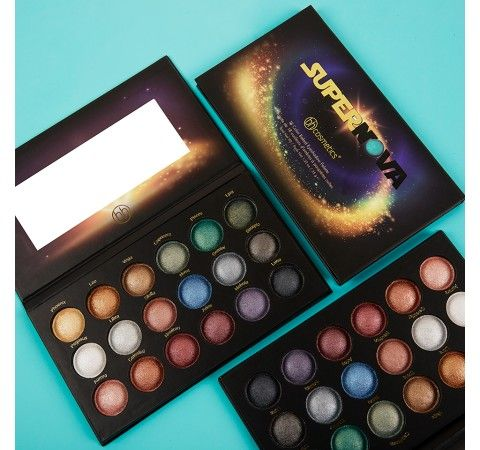 Supernova - 18 Color Baked Eyeshadow Palette- I like Aries, Neutron, Lyra, Scorpio, Luna, Nebula, Leo, Celestial, Vega, and Phoenix.