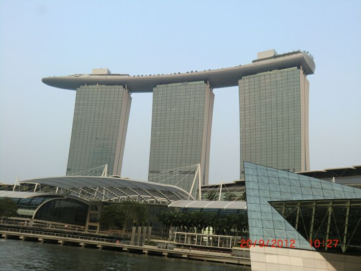 Next time I'll go up there and take a picture... :) Taken from Boat Quay in Singapore