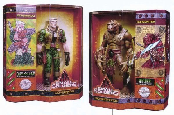 Small Soldiers - Chip Hazard and Archer. I can't remember if i had them...i feel like i had archer....Frickin loved these toys, so so much