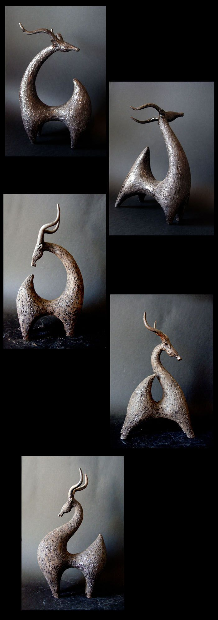 *Ceramic Sculptures by Athena Jahantigh
