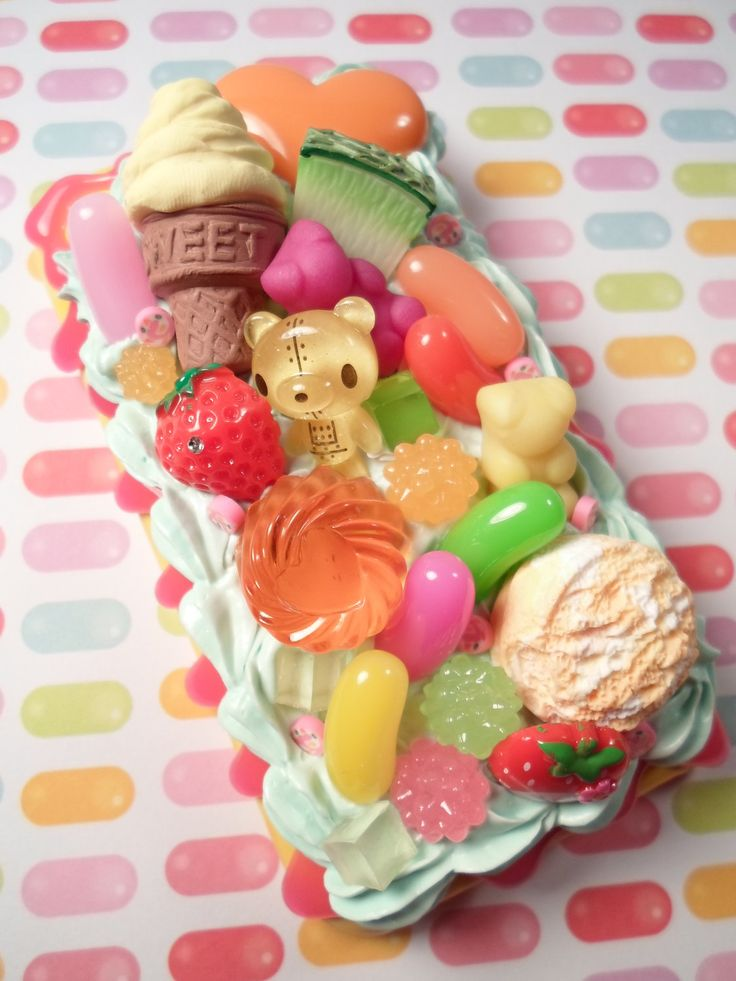 Kawaii Candy Explosion Decoden Deco Case for iPhone 3