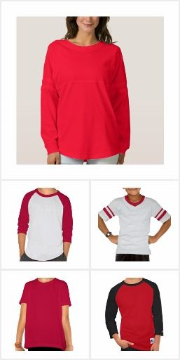 Z All RED Color T-shirts 191 styles at one place
