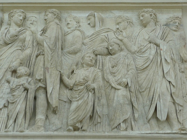art history ara pacis augustae The museum of the ara pacis (italian: museo dell'ara pacis) belongs to the sistema dei musei in comune of rome  it houses the ara pacis of augustus, an ancient monument that was initially inaugurated on january 30, 9 bc.