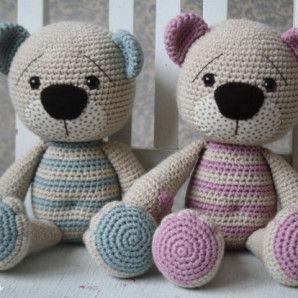 Tummy Teddy – crochet pattern