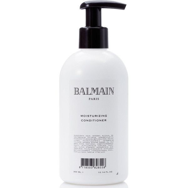 Balmain Hair Moisturising Conditioner (300ml) (401.820 IDR) ❤ liked on Polyvore featuring beauty products, haircare, hair conditioner, balmain and balmain perfume