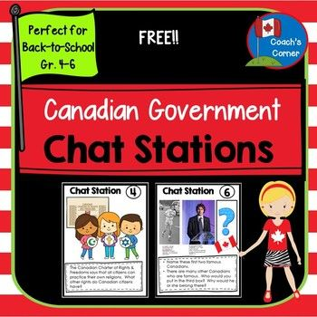 Canadian Government Chat Stations FREEBIE