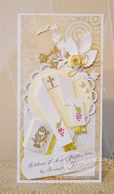 kartka, rocznica jubileusz święceń kapłańskich