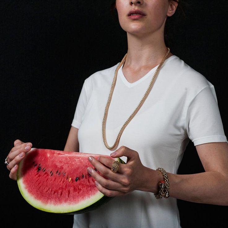 #watermelon and FOPE #jewellery