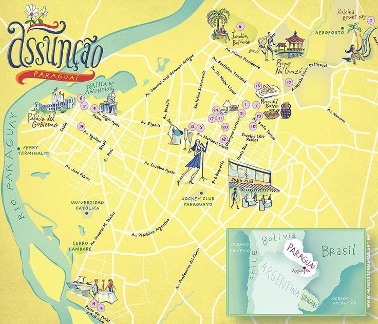 #map #Paraguai
