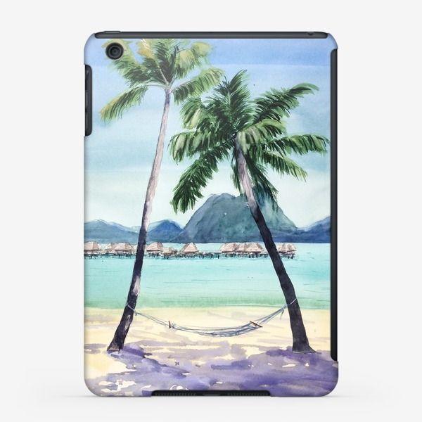 Чехол iPad «В тени пальм»