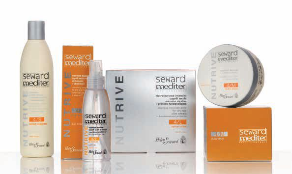 #Dry #hair? #SewardMediter #NUTRIVE Line for a #deep #nourishment and a #restructuring action with #Bio-Tech #Ceramides and #OLEA-Complex