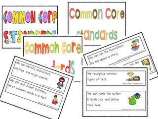 common core standard display cards at tpt