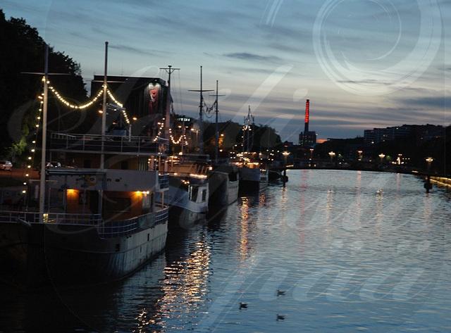 River Aura and 'Fibonacci Tower', Turku.