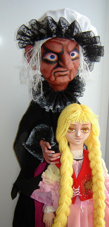 Ведьма и Рапунцель