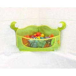 Brica Stay-Open Corner Bath Basket.