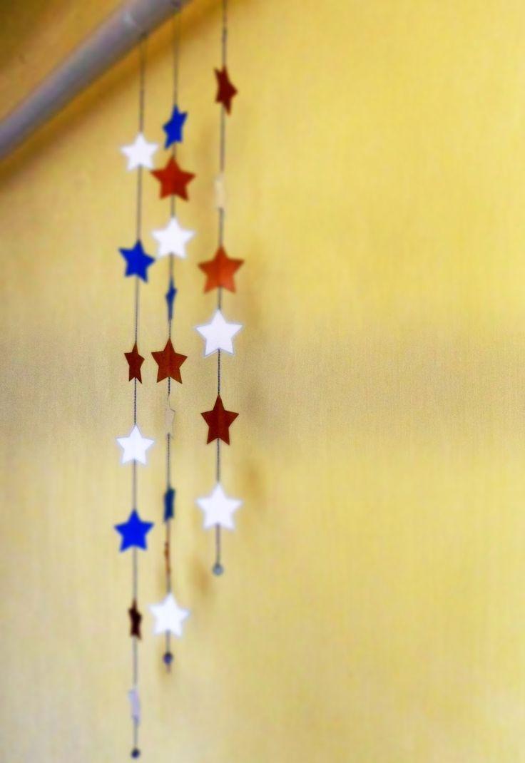 Kreatív hobbi : Karácsonyi csillagok