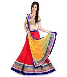 Buy Traditional Designer Partywear lehenga with Blouse Piece ghagra-choli online