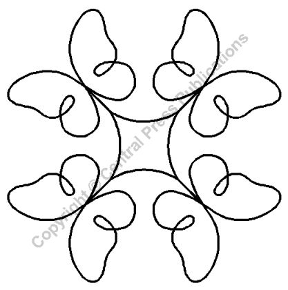 """Quilting Stencils Flying Friends - Item: 7"""" on QuiltingCreations.com"""