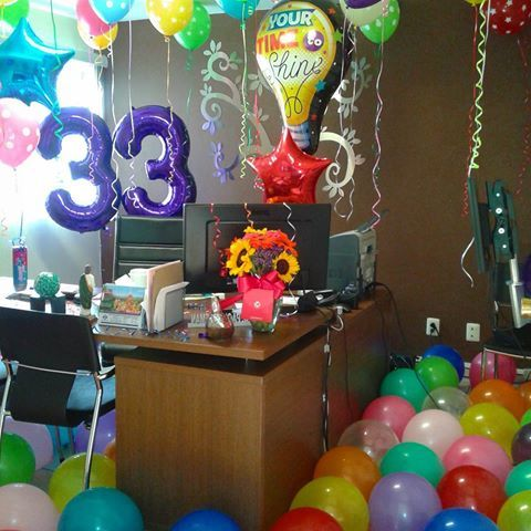 Resultado de imagen para globos gigantes globos for Cuartos decorados feliz cumpleanos