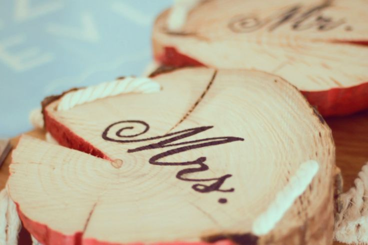 Mr&Mrs Sign for wedding