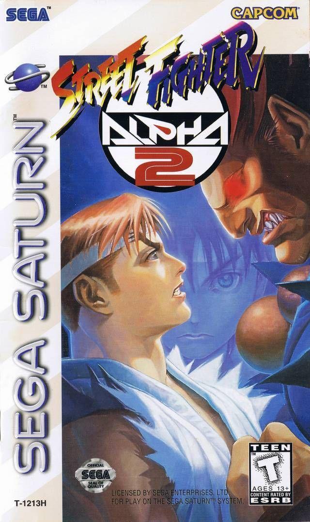 Street Fighter Alpha 2 - Sega Saturn