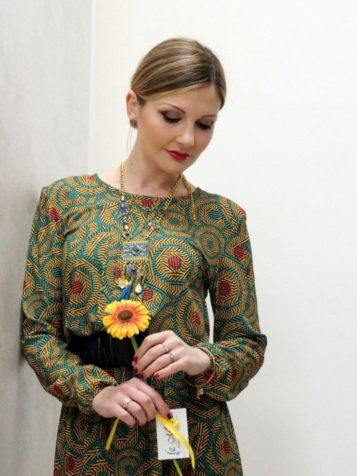 Stampa etnica Primavera - Tribal print outfit #kissmylook