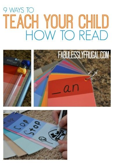 Tips to help your kids learn how to read from an elementary school teacher!