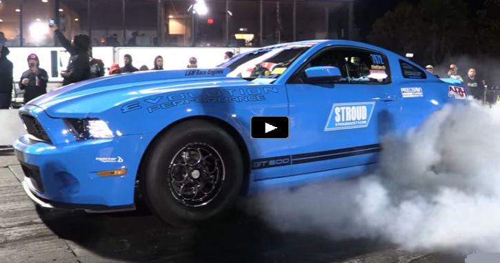 Devil's Reject Mustang at 2016 Import Vs Domestic