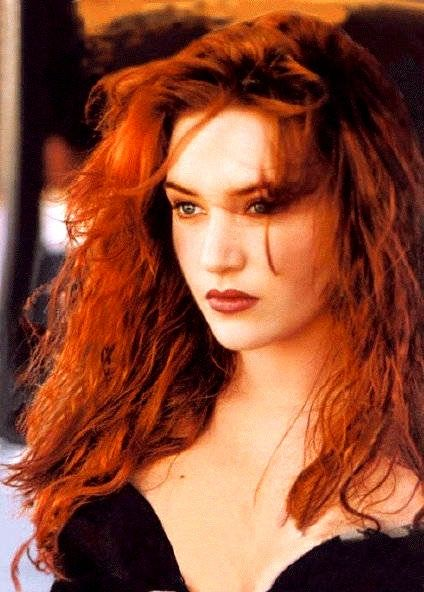 Kate Winslet is most beautiful as a redhead. Why can't she see that? Stop trying to be another blonde in Hollywood.