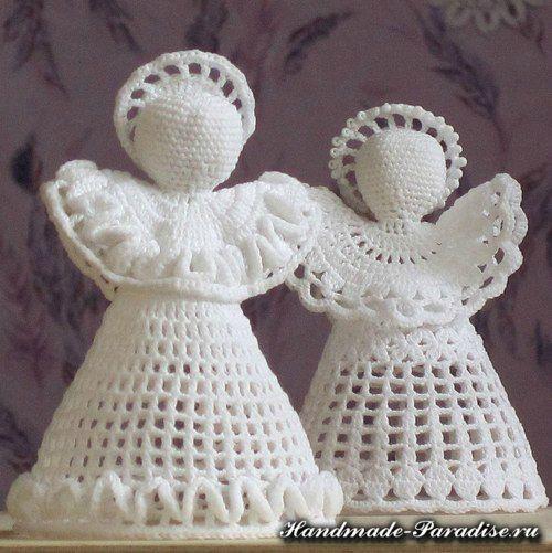 Resultado de imagen para angeles tejidos a crochet