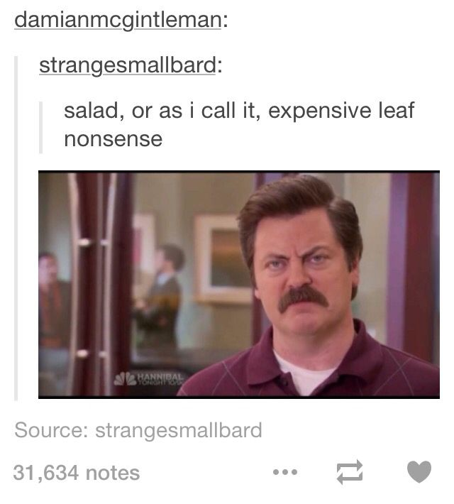 Ron Swanson Parks & Recreation