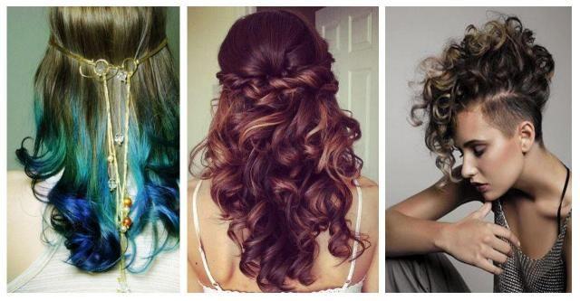 Kręcone włosy - jaka fryzura będzie dla Ciebie najodpowiedniejsza? #WŁOSY KRĘCONE #KRĘCONE #FALE #LOKI #WŁOSY #FRYZURY #KOBIETA #INSPIRACJE #OMBRE