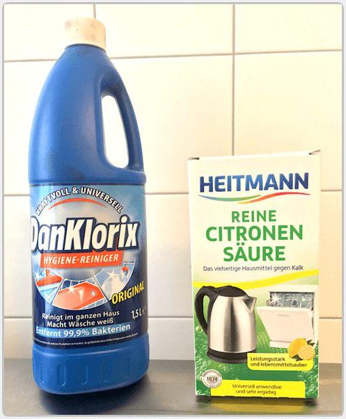 DanKlorix und Citronensaure
