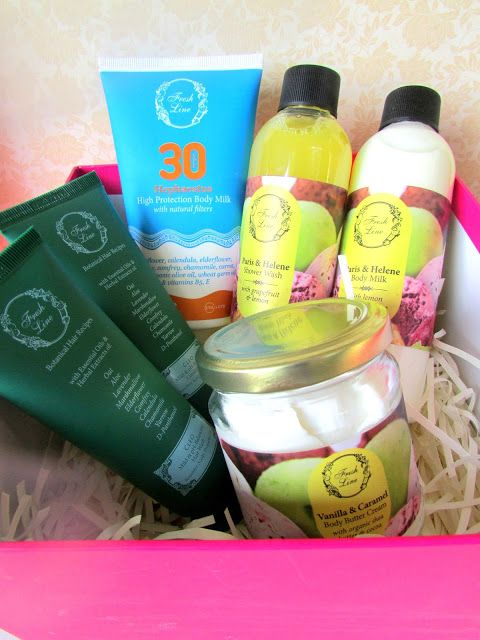 Ef Zin Creations: Fresh Line Beauty Products and a Giveaway!!!!!